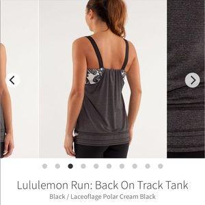 Lululemon Run: Back on Track Tank